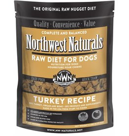 Northwest Naturals Northwest Naturals Frozen Dog Food Turkey 6 lb CASE (*Frozen Products for Local Delivery or In-Store Pickup Only. *)