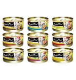Fussie Cat Fussie Cat Can Food | Tuna with Aspic 2.8 oz CASE