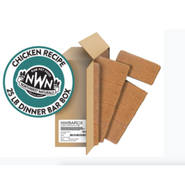 Northwest Naturals Northwest Naturals Frozen Bars Chicken 25 lb CASE (*Frozen Products for Local Delivery or In-Store Pickup Only. *)