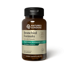 Nature's Sunshine Supplements Bronchial Formula 100 capsules
