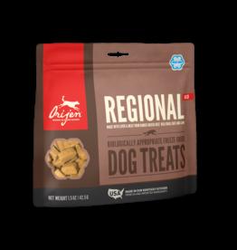 Champion Pet Foods Orijen Freeze Dried Dog Treats Regional Red 1.5 oz