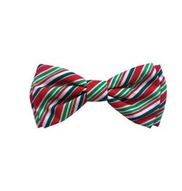Huxley & Kent Huxley & Kent Holiday Bow Tie | Candy Cane  Extra Large (XL)