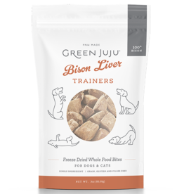 Green Juju Green Juju Freeze Dried Trainers | Bison Liver 3 oz