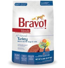 Bravo Bravo Blends Frozen Patties CASE Turkey 5 lbs (*Frozen Products for Local Delivery or In-Store Pickup Only. *)