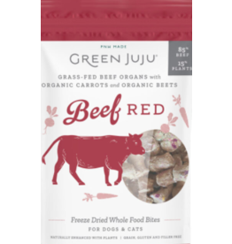 Green Juju Green Juju Freeze Dried Treats | Beef Red 7.5 oz