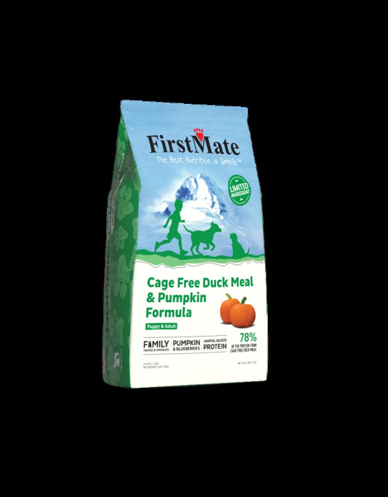 Firstmate FirstMate GF Dog Kibble   Duck & Pumpkin 5 lbs