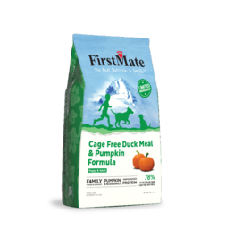 Firstmate FirstMate Grain Free Dog Kibble | Duck & Pumpkin 25 lbs