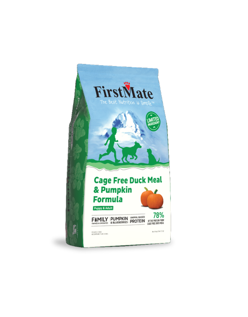 Firstmate FirstMate GF Dog Kibble | Duck & Pumpkin 25 lbs