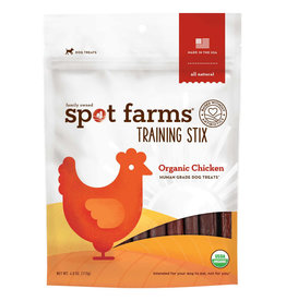 Spot Farms Spot Farms | Organic Chicken Training Stix 4 oz