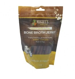 Nugget's Healthy Eats Nugget's Healthy Eats | Bone Broth Chicken Jerky 10 oz