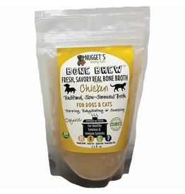 Nugget's Healthy Eats Nugget's Healthy Eats | Frozen Bone Brew Chicken Broth 20 oz (*Frozen Products for Local Delivery or In-Store Pickup Only. *)