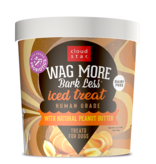 Cloud Star Cloud Star Wag More Bark Less   Peanut Butter Iced Treat for Dogs 12 oz (*Frozen Products for Local Delivery or In-Store Pickup Only. *)