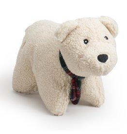 HuggleHounds Huggle Hounds Holiday Squooshie Plush   Polar Bear Large