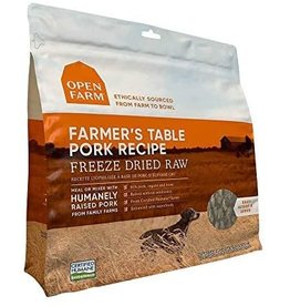 Open Farm Open Farm Freeze Dried Raw | Farmer's Table Pork 22 oz