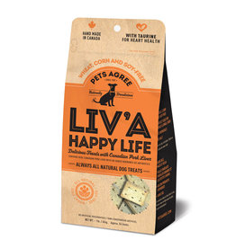 Granville Island Pet Granville Pets Agree Biscuits | Liv'a Happy Life 1 lb