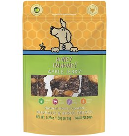 Honey Im Home Honey I'm Home Dog Treats | Buffalo Apple Jerky 5.29 oz