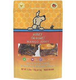 Honey Im Home Honey I'm Home Dog Treats | Buffalo Mango Jerky 5.29 oz