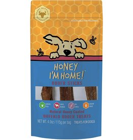 Honey Im Home Honey I'm Home Dog Treats | Buffalo Udder Sticks 4 oz