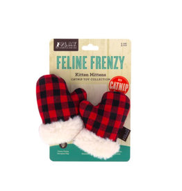 PLAY P.L.A.Y. Feline Frenzy Holiday Cat Toys | Kitten Mittens