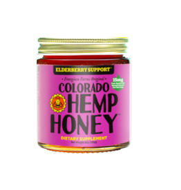 Colorado Hemp Honey Colorado Hemp Honey Elderberry Jar 6 oz