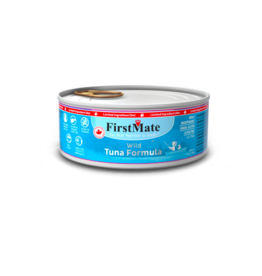 Firstmate FirstMate LID Canned Cat Food Wild Tuna 5.5 oz CASE