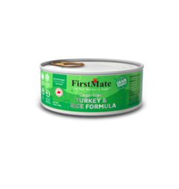 Firstmate FirstMate Canned Cat Food Grain Friendly Cage Free Turkey & Rice 5.5 oz single
