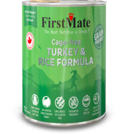Firstmate FirstMate Canned Cat Food Grain Friendly Cage Free Turkey & Rice 12.2 oz single