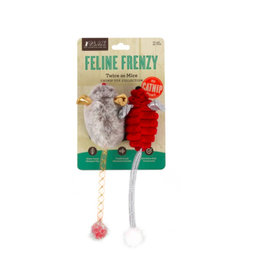 PLAY P.L.A.Y. Feline Frenzy Cat Toys | Twice as Mice 2 pk