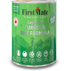 Firstmate FirstMate Canned Dog Food Grain-Friendly Cage-Free Turkey & Rice 12.2 oz single