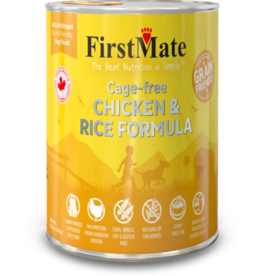 Firstmate FirstMate Canned Dog Food Grain-Friendly Cage-Free Chicken & Rice 12.2 oz single