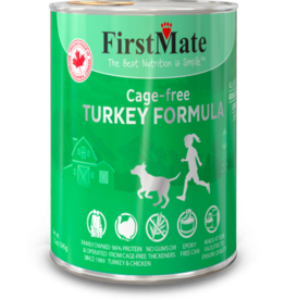 Firstmate FirstMate Canned Dog Food Cage-Free Turkey 12.2 oz CASE