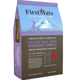 Firstmate FirstMate GF Cat Kibble Chicken with Blueberries 10 lbs