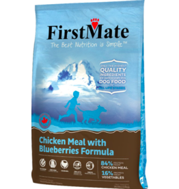 Firstmate FirstMate GF Dog Kibble Chicken with Blueberries 14.5 lbs