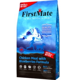Firstmate FirstMate GF Dog Kibble Chicken with Blueberries Small Bites 14.5 lbs