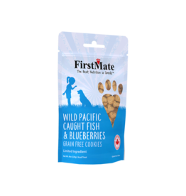 Firstmate FirstMate Dog Treats Fish & Blueberries 8 oz