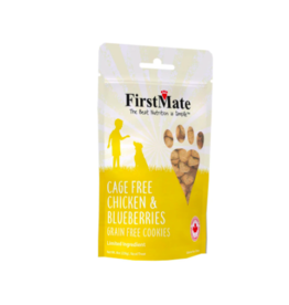 Firstmate FirstMate Dog Treats Chicken & Blueberries 8 oz