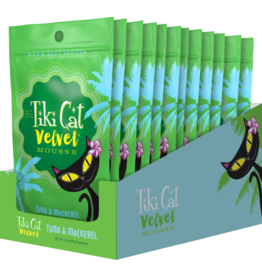 Tiki Cat Tiki Cat Velvet Mousse Tuna & Mackerel 2.8 oz CASE