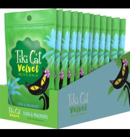 Tiki Cat Velvet Mousse Tuna & Mackerel 2.8 oz CASE