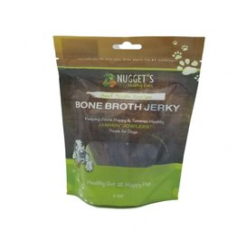 Nugget's Healthy Eats Nugget's Healthy Eats | Bone Broth Beef Jerky 10 oz