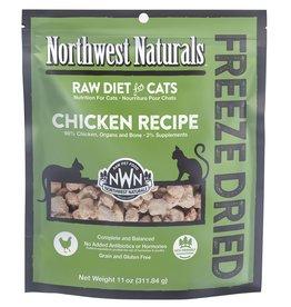 Northwest Naturals Northwest Naturals Freeze Dried Cat Food | Chicken 11 oz CASE