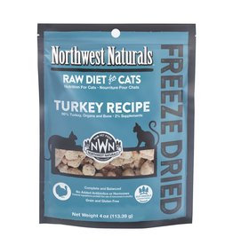 Northwest Naturals Northwest Naturals Freeze Dried Cat Food | Turkey 4 oz