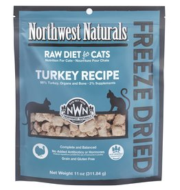 Northwest Naturals Northwest Naturals Freeze Dried Cat Food | Turkey 11 oz CASE