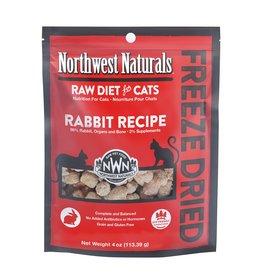 Northwest Naturals Northwest Naturals Freeze Dried Cat Food | Rabbit 4 oz