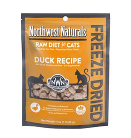 Northwest Naturals Northwest Naturals Freeze Dried Cat Food | Duck 4 oz