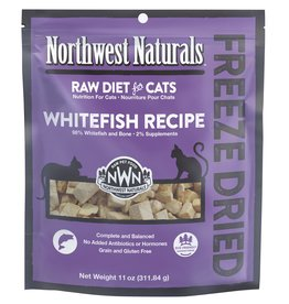 Northwest Naturals Northwest Naturals Freeze Dried Cat Food | Whitefish 11 oz