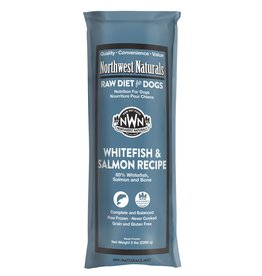 Northwest Naturals Northwest Naturals Frozen Chub Whitefish & Salmon 5 lb CASE (*Frozen Products for Local Delivery or In-Store Pickup Only. *)