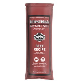 Northwest Naturals Northwest Naturals Frozen Chub Beef 5 lb CASE (*Frozen Products for Local Delivery or In-Store Pickup Only. *)