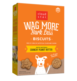 Cloud Star Cloud Star Wag More Bark Less Biscuits Peanut Butter 3 lbs