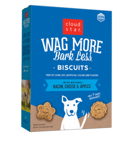 Cloud Star Cloud Star Wag More Bark Less Biscuits Bacon, Cheese, & Apples 3 lbs