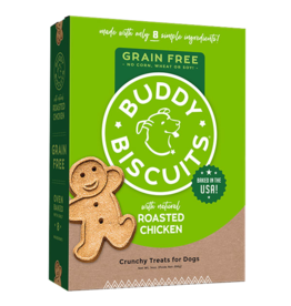 Cloud Star Cloud Star GF Buddy Biscuits Dog Treats Rotisserie Chicken 5 oz